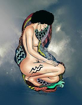 The Aquarius Woman by Kenal Louis