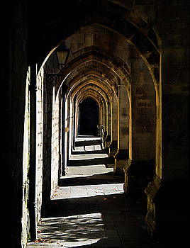The Arches at Winchester Cathedral by Joe Schofield