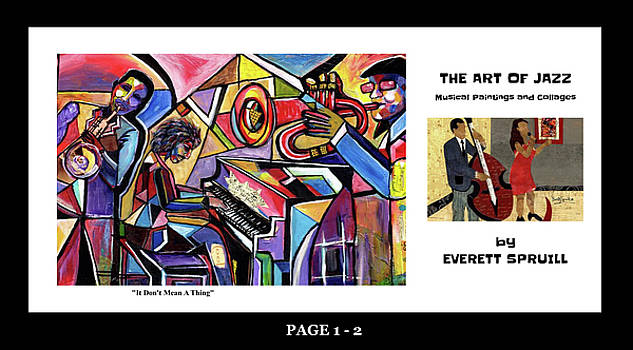 The Art of Jazz - page 1 - 2 by Everett Spruill