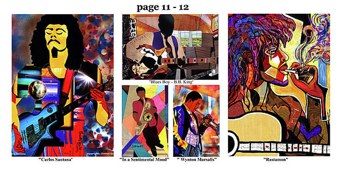 The Art of Jazz - page 11 - 12 by Everett Spruill