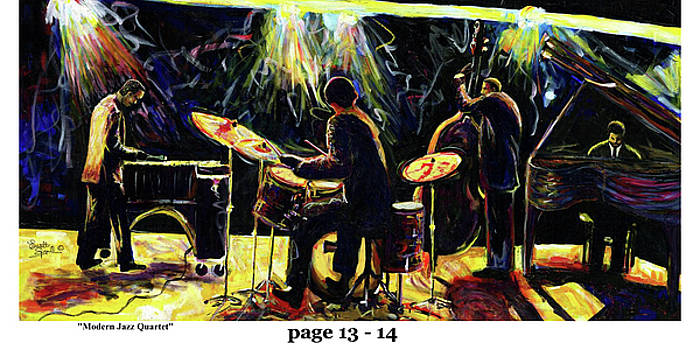 The Art of Jazz - page 13 - 14 by Everett Spruill