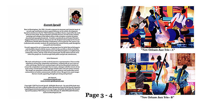 The Art of Jazz - page 3 - 4 by Everett Spruill