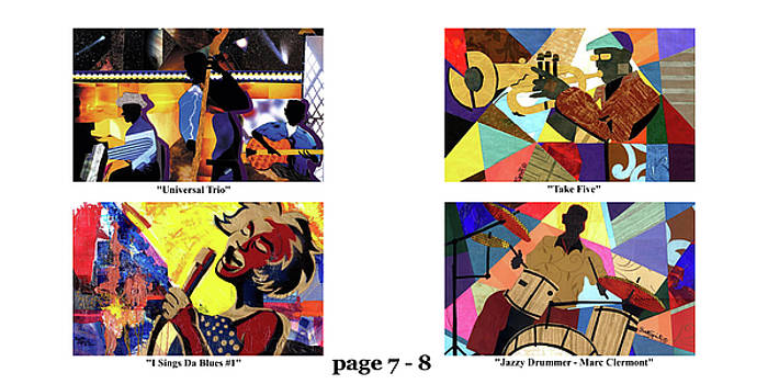 The Art of Jazz - page 7 - 8 by Everett Spruill