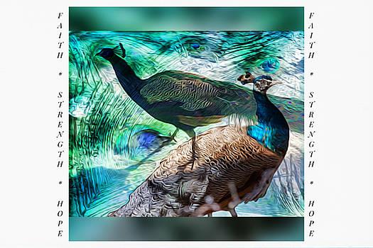 Proud Peacock - Encouragement Cards by Linda Ouellette