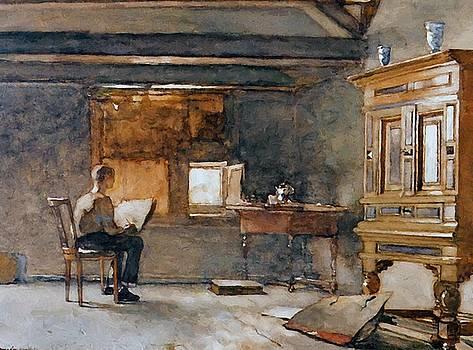 Weissenbruch Johan Hendrik - The Artist Studio
