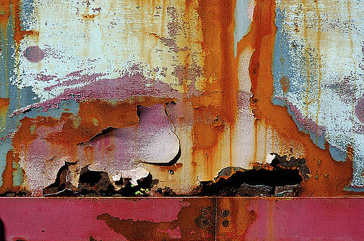Reimar Gaertner - The artistry of time rusting and flaking paint
