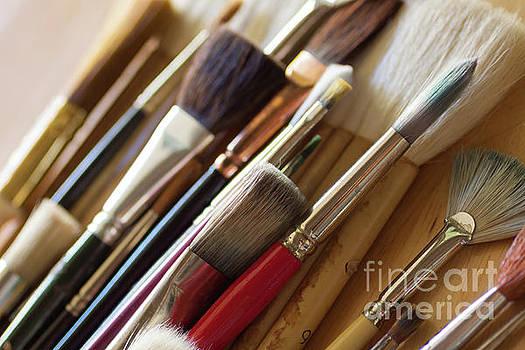 The Artist's Studio by Ana V Ramirez