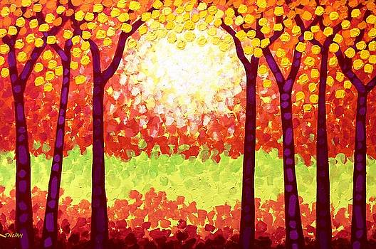 The Autumn Leaves by John  Nolan