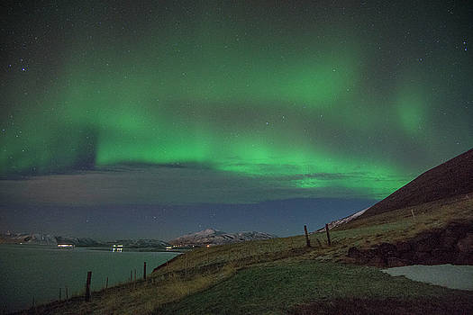 Matt Swinden - The Aurora Borealis Over Iceland