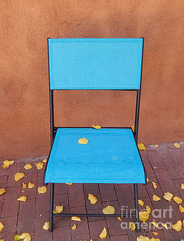 The Autumn Welcoming Chair				 by Ann Johndro-Collins