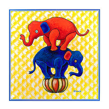 The Baby Elephants Ball by Rich Travis