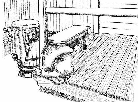 The Back Porch by Dawn Boyer