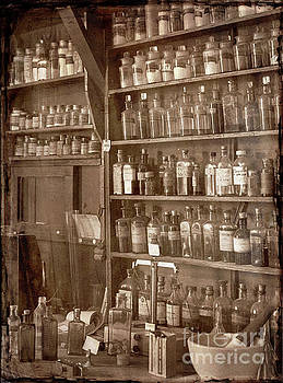 The Back Room in sepia by Russ Brown