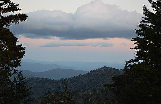 The Back Side of Sunset - Clingmans Dome by rd Erickson