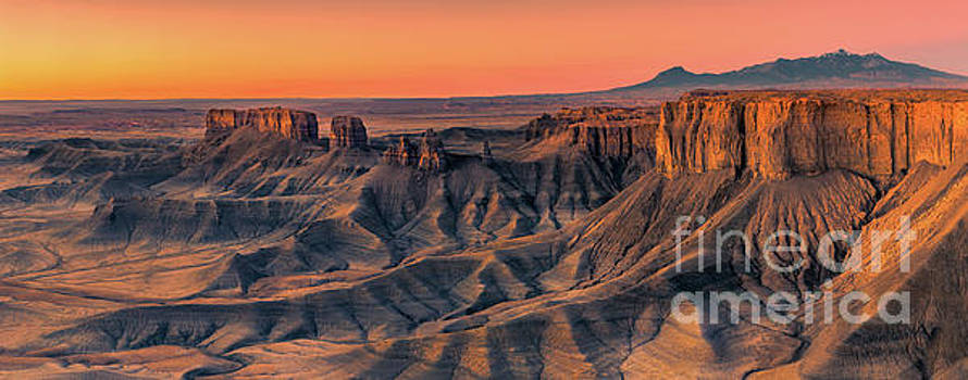 The Badlands overview, Utah by Henk Meijer Photography