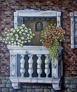 The Balcony by Elaine Balsley