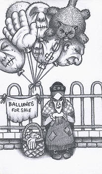 The Balloon Seller by Hermit