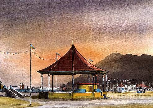 Val Byrne - The Bandstand on Bray Promenade