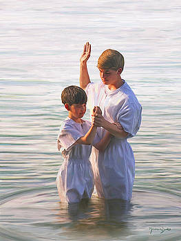 The Baptism by Norman Drake