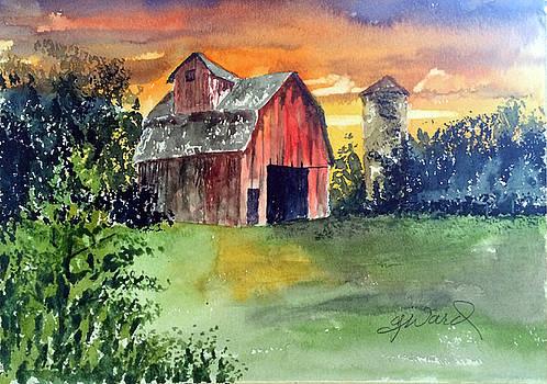 The Barn by Glen Ward