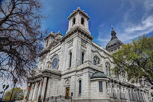 Wayne Moran - The Basilica of Saint Mary Minneapolis Springtime