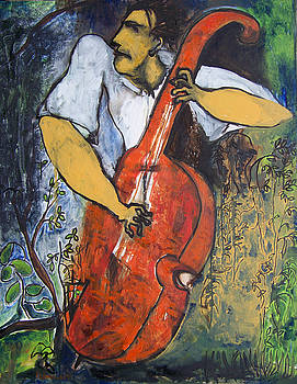 The Bassist by Padma Prasad
