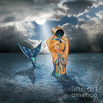 The bathtub of the mermaid by Monika Juengling