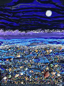 Donna Blackhall - The Beach By Moonlight