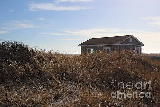 The Beach House and Sand Dunes at Jones Beach by Dora Sofia Caputo Photographic Art and Design