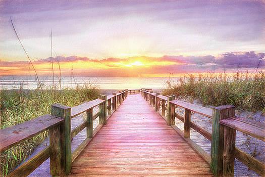 Debra and Dave Vanderlaan - The Beach is Calling in Pretty Pastels