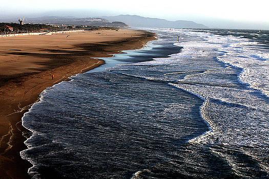 The Beach by Joe Luchok