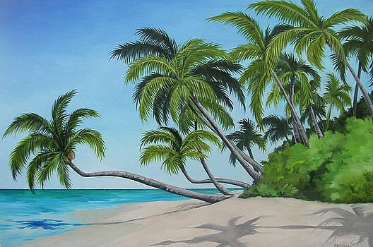 The Beach by Juan Alcantara