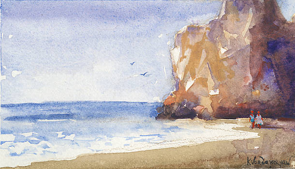 The Beach by Kristina Vardazaryan