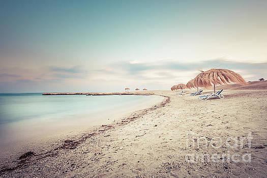 The beach - Marsa Alam  by Hannes Cmarits