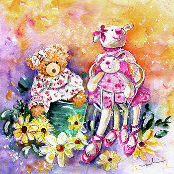 The Bear And The Ballerinas In York by Miki De Goodaboom