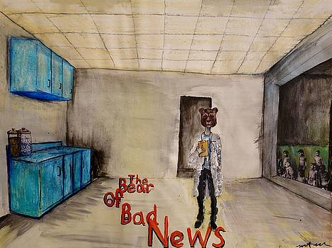 The Bear of Bad News by Grant Flowers
