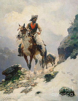 William Robinson Leigh - The Bear Tracker