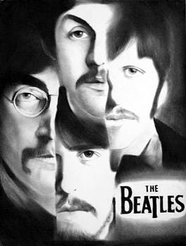 The Beatles by Adrian Pickett