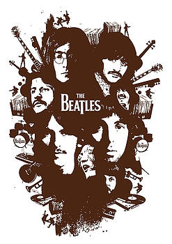 The Beatles No.15 by Caio Caldas