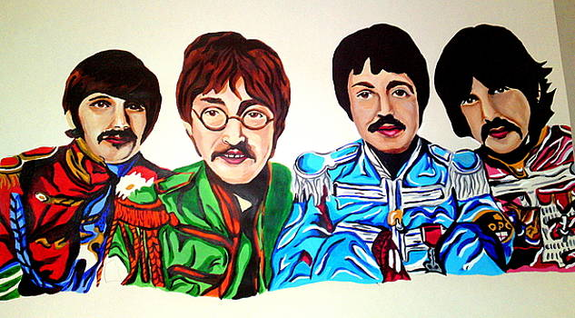 The Beatles  by Pauline Murphy