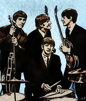 The Beatles by Sergey Lukashin