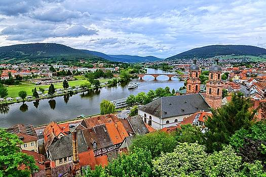 Along The Beautiful Rhine by Lanis Rossi