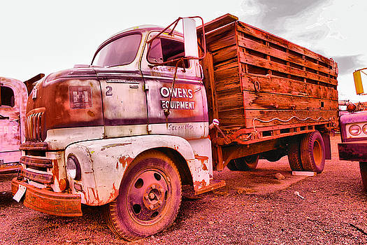 The beauty of an old truck by Jeff Swan
