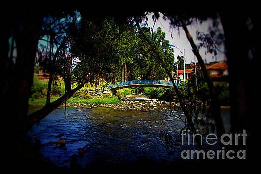 The Beauty Of Cumanda Creek In Cuenca II by Al Bourassa
