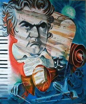 The Beethoven Painting by Dan Koon