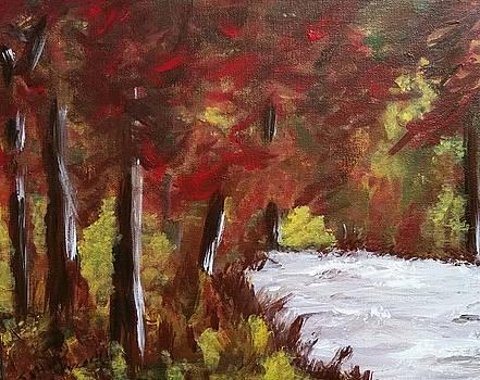 The Beginning of Autumn by Sallie Wysocki