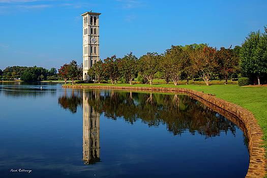 Reid Callaway - The Bell Tower Reflections Furman University Greenville South Carolina Art