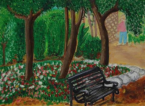 The Bench by Charla Van Vlack