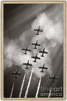The best aerobatic team by Stefano Senise