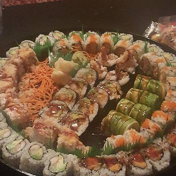 The Best Damn Sushi Platter We Have Had by Jocelyne Maxim